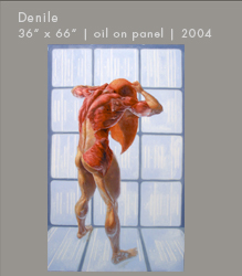 Where is My Soul: An Anatomical Study of the Body | Denile | Oil on Panel